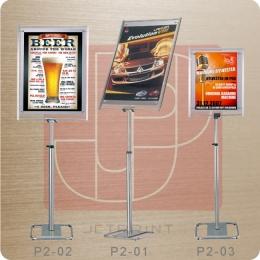 P4-60 橫式鋁框廣告立牌